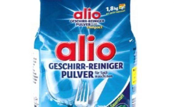 Bột rửa bát Alio Complete 1.8 kg