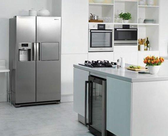 Tủ lạnh trong phong thủy nhà bếp