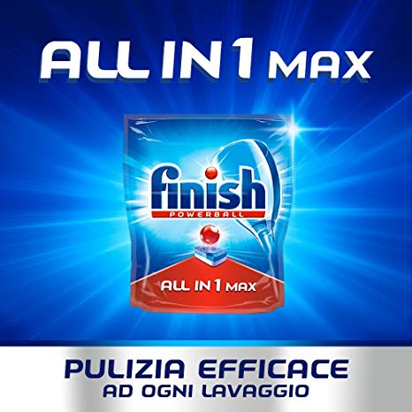 Viên rửa bát finish all in 1 max