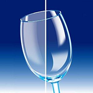 Khả năng xóa vết mờ thủy tinh của nước làm bóng Finish Jet Dry