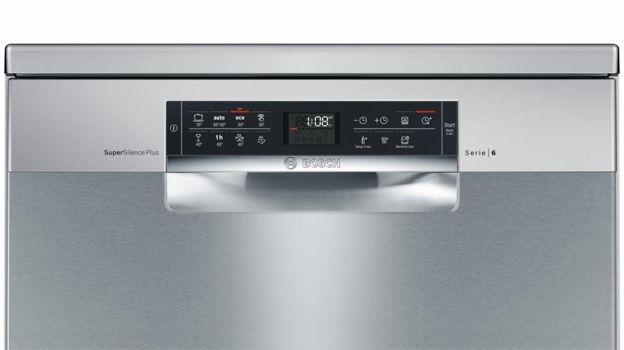 Bảng điều khiển máy rửa bát Bosch Seri 6
